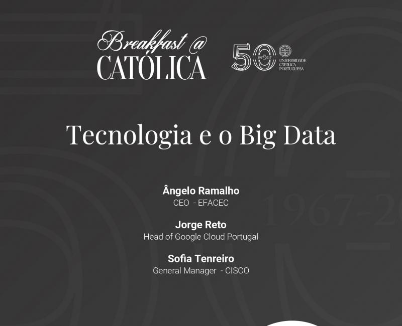 Breakfast@Católica - A Tecnologia e o Big Data