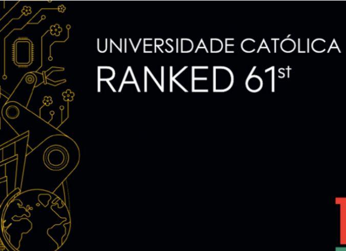 "Católica entre as 100 Melhores Universidades do Mundo no Ranking Best ""Golden Age"" Universities do THE"